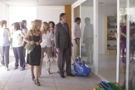 La nueva escuela infantil en Can Cantó abre hoy sus puertas con las 55 plazas cubiertas