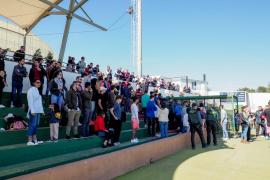 El partido entre la Peña y el Peralada, en imágenes (Fotos: Marcelo Sastre).