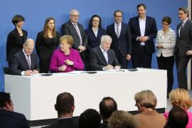 Merkel y SPD sellan el nuevo Gobierno en Alemania casi 6 meses después de los comicios