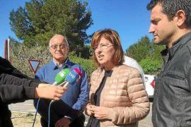 El PP exige que se ejecute «de inmediato» la rotonda de ses Païsses por el aumento de accidentes