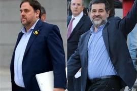 El TS confirma las primeras denegaciones de excarcelación de Junqueras y Sánchez para acudir al Parlament