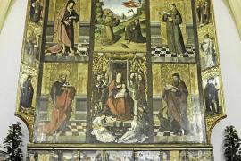 Jesús vuelve a presumir de retablo