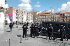 Cargas policiales en Lavapiés tras la llegada del cónsul de Senegal