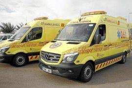 El personal de ambulancias exige garantías al Govern sobre su continuidad laboral