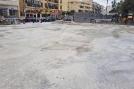 Sant Antoni acondiciona el aparcamiento junto al mercado payés
