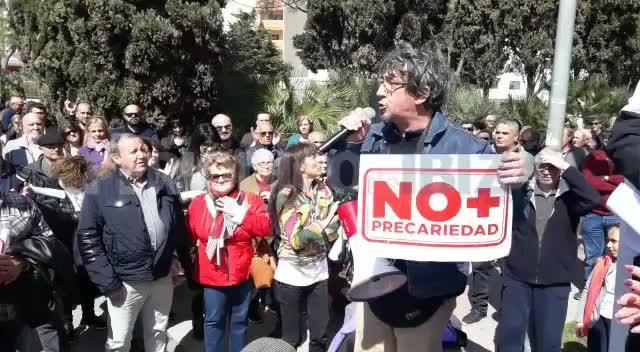 Ibiza se moviliza por unas pensiones dignas