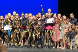 Seis oros para la escuela de Davinia Van Praag en el Dance World Cup Spain