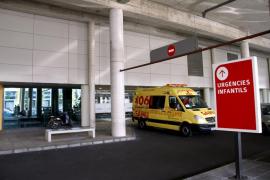 La niña de tres años herida en un accidente en Sant Joan sale de la UCI pediátrica de Son Espases