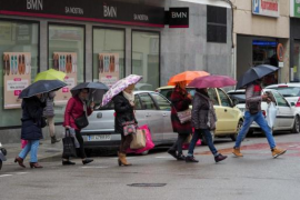 Un frente activo dejará precipitaciones, viento y oleaje el primer fin de semana de Semana Santa