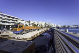 Cs Ibiza alerta de que los tanques de tormenta no estarán acabados antes de verano