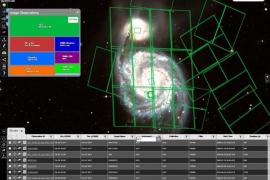 Un atlas estelar de la ESA permite hacer zoom en todo el firmamento
