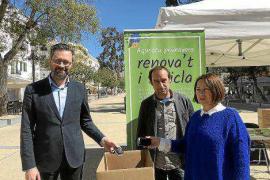 Vila presume de haber recogido más de 210 toneladas de residuos electrónicos en 2017