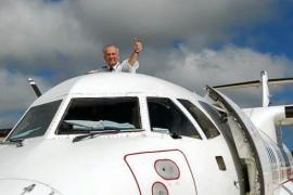 Se jubila Emilio Marchesi, el popular comandante de Air Europa de los vuelos interislas