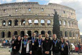 Cinco medallas para el Ibiza Fight Center en el Open de Roma