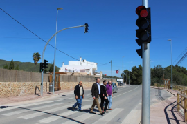 Santa Eulària invierte 338 mil euros en obras de mejora en la carretera que conecta Can Ramon y Sa Font