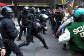 Tensión en las concentraciones a favor de la libertad de Puigdemont