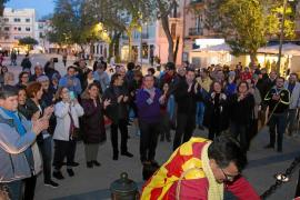 La captura de Puigdemont no activa al independentismo en Ibiza