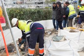 Las obras en el puente de sa Llavanera no se acabarán hasta después del verano