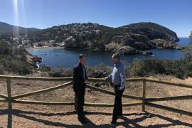 Sant Josep finaliza las obras de reforma de Cala Vedella Norte