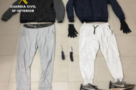 Dos detenidos por una docena de robos en casas de Santanyí
