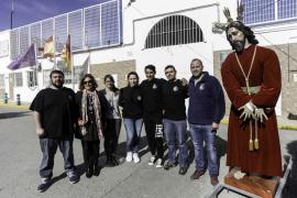 La imagen del Cautivo vuelve un año más a la prisión de Ibiza