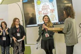 La mallorquina Aina Bestard, premiada en Bolonia por la Asociación de editores italianos