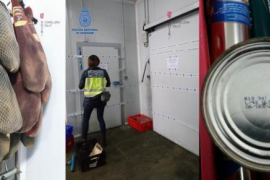 Detenido un empresario en Mallorca por vender carne en mal estado a restaurantes y colegios