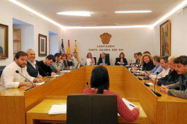 Santa Eulària insta al Consell a redactar ya el proyecto de la travesía de Ca na Negreta