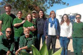 Diez personas participan en el programa de formación y ocupación Es Romaní de Sant Josep