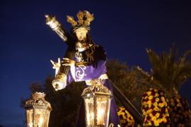 Nuestro Padre Jesús del Gran Poder cumplió ayer diez años desde su primera procesión