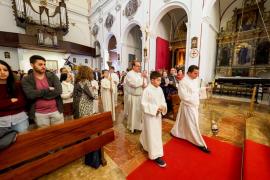 Misa Crismal en la Catedral de Ibiza (Fotos: Marcelo Sastre)