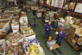 El Banco de Alimentos necesita más voluntarios permanentes