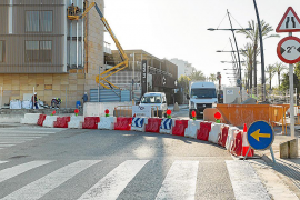 Las obras se multiplican en el puerto de Vila