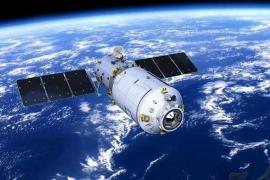 La estación espacial china Tiangong 1 cae en el Pacífico Sur