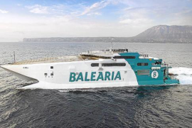 Baleària y Trasmediterránea vuelven a poner los buques de alta velocidad en Balears