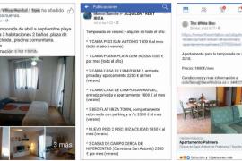 Burbuja del alquiler en Ibiza: se ofrecen camas por 1.000 euros al mes en pisos compartidos