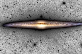 La Vía Láctea se agranda lentamente, 500 metros por segundo