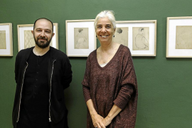 'Dibuixos' de Vicent Calbet protagoniza la nueva muestra del Museu Puget
