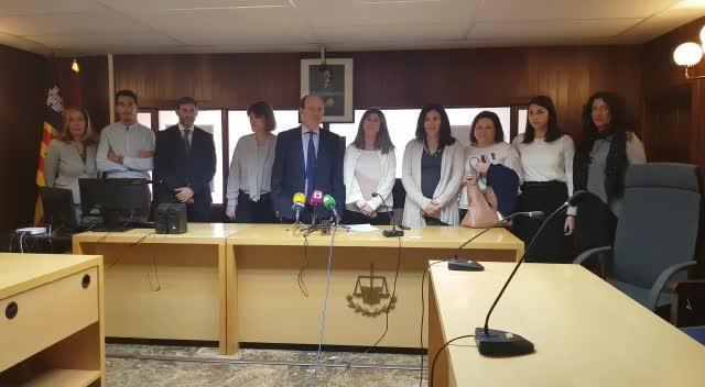 Jueces, magistrados y fiscales de Ibiza anuncian una primavera caliente de movilizaciones