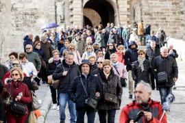 El número de turistas aumenta un 4,2% hasta marzo en Balears con 479.148 visitantes, según Ibestat