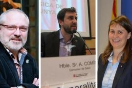 Los exconsellers Comín, Serret y Puig, en libertad sin fianza mientras se resuelve la euroorden