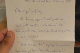 Jordi Cuixart escribe a Valtonyc desde prisión: «Lo podemos todo»