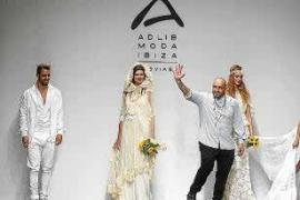 Tony Bonet y Virginia Vald representan a Adlib Moda Ibiza en Madrid Bridal Week 2018