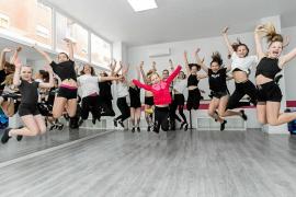 Las bailarinas de DVP Dancers preparan muchas sorpresas para la gran final