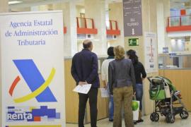 Las declaraciones con derecho a devolución en la Renta 2017 en Balears sumarán 214 millones
