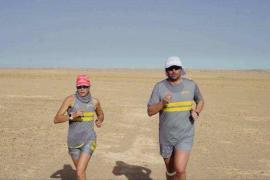 Sabi Corral supera su reto en el Sáhara