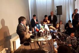 Puigdemont asegura que se quedará en Berlín hasta que termine el proceso judicial en Alemania