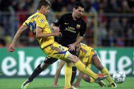 Messi iguala a Kubala en la victoria más cómoda (0-5)