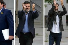 El juez Llarena cita a Junqueras, Sànchez y Cuixart para comunicarles su procesamiento por rebelión