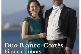 El dúo Blanco-Cortès ofrece un concierto de piano a cuatro manos en Sóller